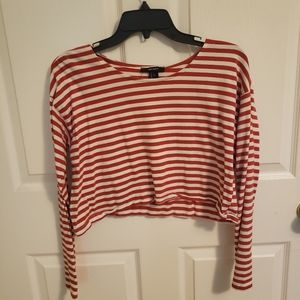 Forever 21 Striped Crop Top!